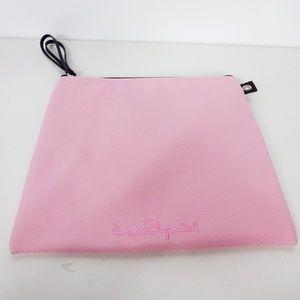 Henri Bendel Embroidered Pouch Bag